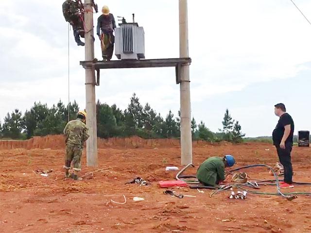 低压配电线路安装